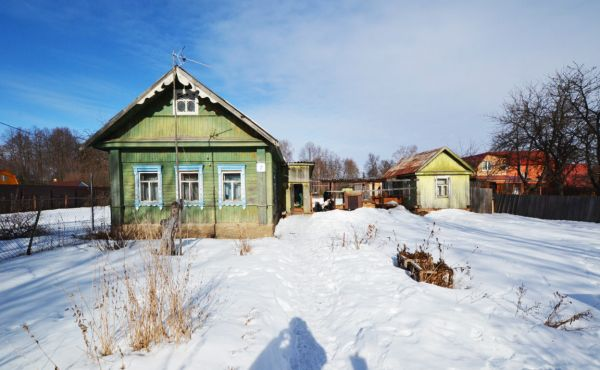 Дом в селе Осташево на улице Первомайская (210 метров до водохранилища)